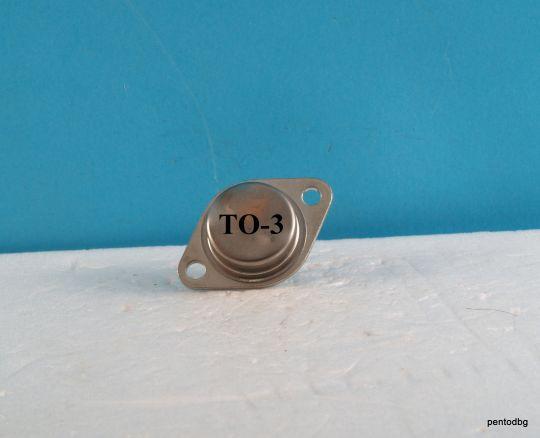 Германиев транзистор  AD301 PNP 30W 3A 30V 200KHz