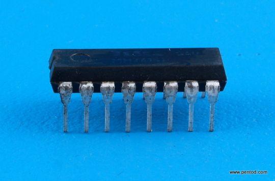 Интегрална схема памет  TTL  MH74188  / 74188 / DIP16 Tesla