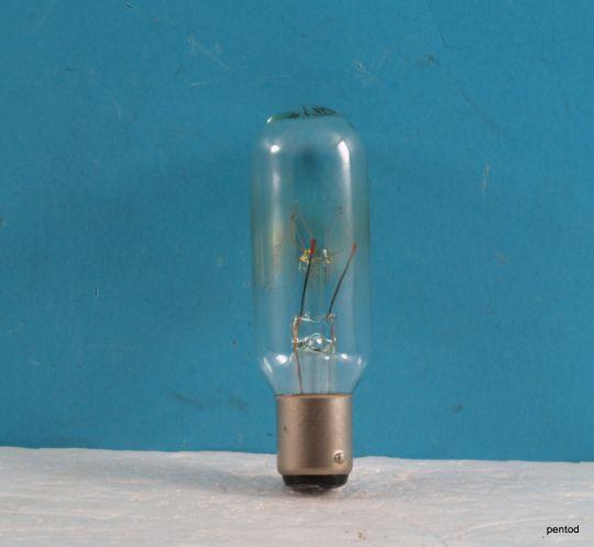 Лампа прожекционна  127V 25W  BA15d  СССР