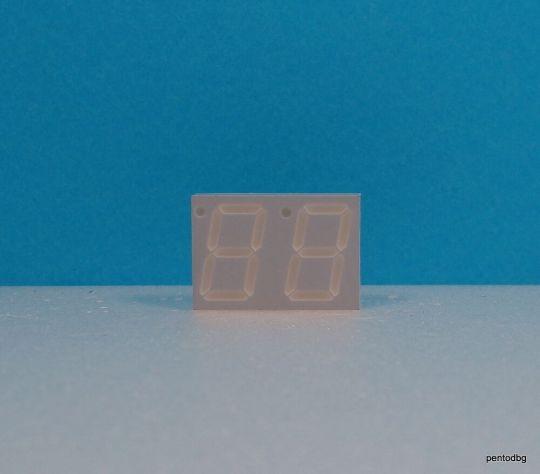 HDSP5323 Двоен седем сегментен цифров индикатор