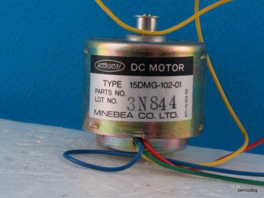 Стъпков  електродвигател  15DMG -102-01 Minebea Co. Ltd Japan  Astrosyn dc motor