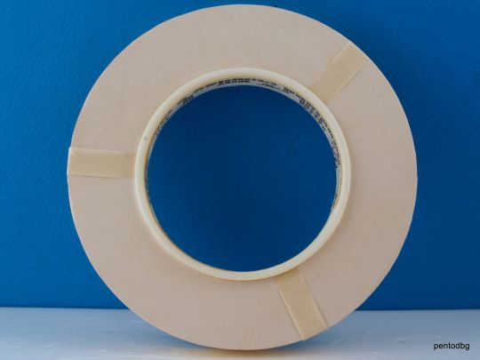 Тефлонова лента електро изолационна  0.04 Х 10mm  ролка 100 метра