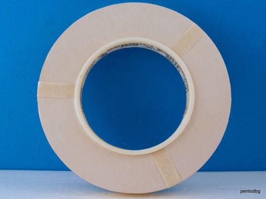 Тефлонова лента електро изолационна  0.03 Х 10mm  ролка 253 метра